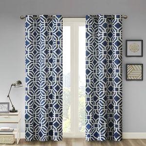 🆕️ Madison Park Maci Fretwork Window Curtains